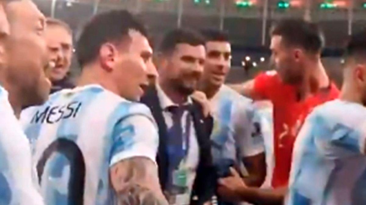 لیونل مسی جلوی تمسخر برزیل را گرفت