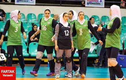 شکست بانوان والیبالیست ایران برابر اسلوونی