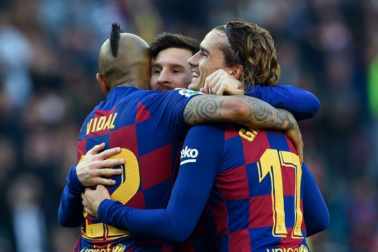 تیم منتخب گرانترین فوتبالیستها 2011 در قبضه بارسلونا