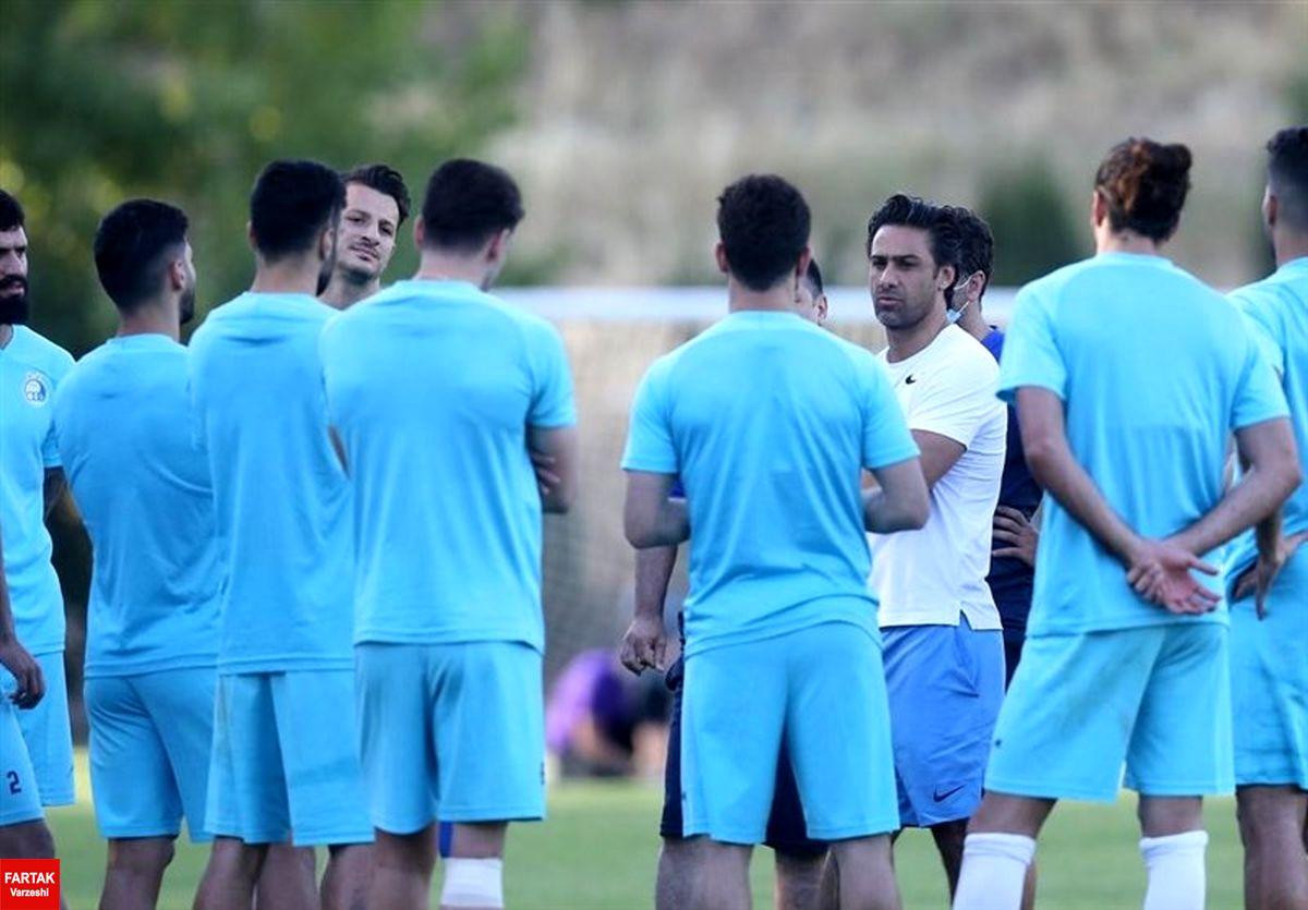 بازیکنان استقلال همچنان ناراحت از وضعیت تیم