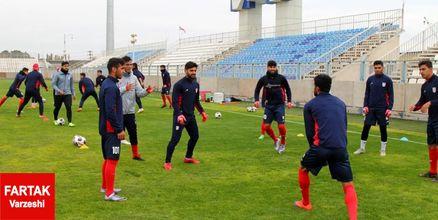 گزارش تمرین تراکتورسازی؛ تاکتیک های فوتبال تهاجمی در دستور کار سرخپوشان