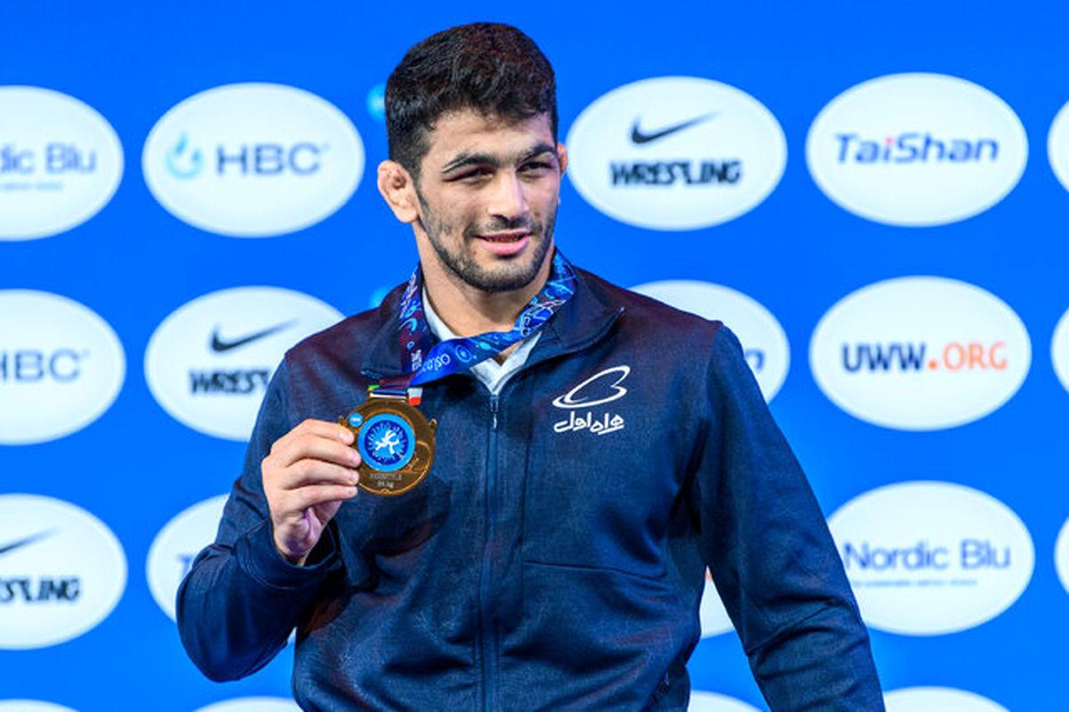 عضویت حسن یزدانی در کمیسیون ورزشکاران اتحادیه جهانی کشتی