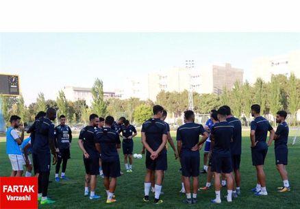 گزارش تمرین نوبت صبح استقلال در غیاب 10 بازیکن