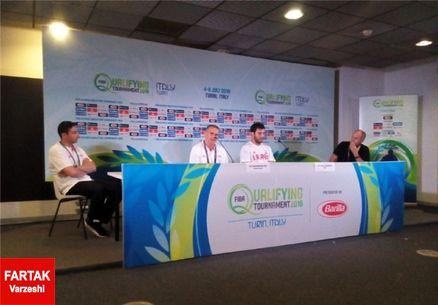 بائرمن: هدف ایران جام جهانی بسکتبال چین است/ فشار دفاع یونان زیاد بود
