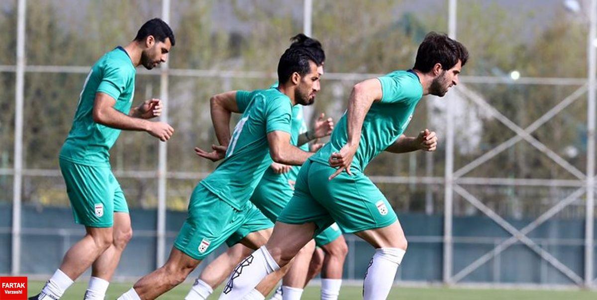 اعلام برنامه آخرین تمرینی تیم ملی پیش از بازی با سوریه