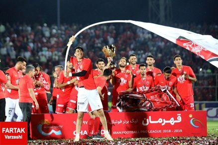 پرسپولیس رکوردار شد؛ سرخپوشان بر بام فوتبال ایران