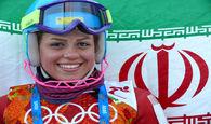 المپیک زمستانی/ فروغ عباسی در مارپیچ کوچک چهل و نهم شد