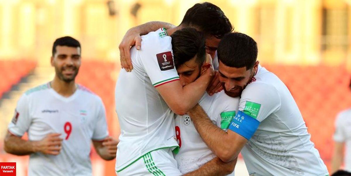 انتخابی جام جهانی| قلیزاده تیم ملی را برنده راهی رختکن کرد