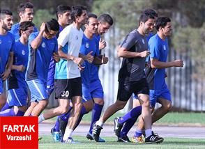 اقدام بدون مجوز تیم استقلال تهران قبل از دیدار با نفت