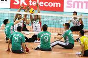 مردان والیبال نشسته ایران،ملی پوشان آلمان را شکست دادند