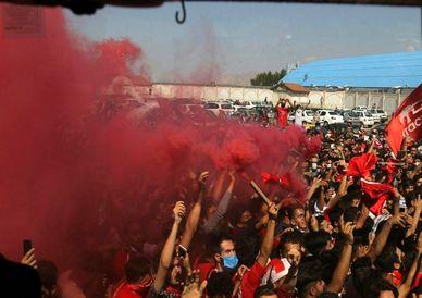 تصاویر / جشن قهرمانی تراکتور در ورزشگاه شهید سلیمانی