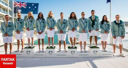 ابتکار جالب استرالیایی ها در طراحی لباس ورزشکاران المپیک + عکس