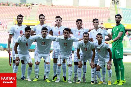پیروزی تیم امید ایران مقابل قطر