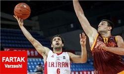 ملیپوشان بسکتبال ایران 73 بر 65 ژاپن را بردند