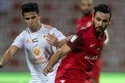 لیگ فوتبال امارات|توقف شباب الاهلی با قائدی و نوراللهی مقابل قعرنشین