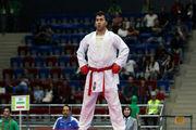شکست سجاد گنجزاده در مرحله نیمه نهایی لیگ جهانی کاراته / مبارزه برای مدال برنز