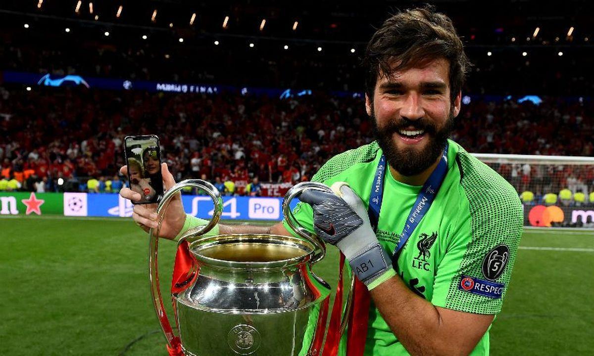 آلیسون :می خواهم بارها فتح لیگ قهرمانان اروپا را تجربه کنم