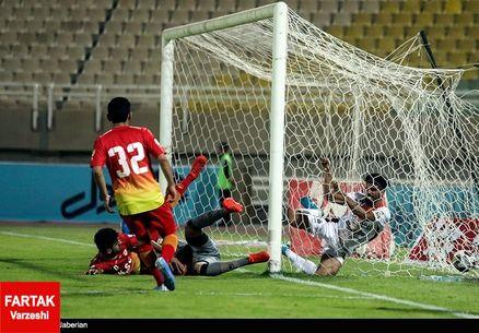 پیروزی فولاد خوزستان برابر مس شهر بابک در نیمه اول