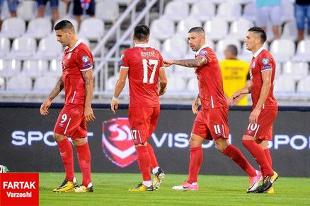 تثبیت جایگاه صربستان در صدر جدول گروه D/توقف ایرلند مقابل گرجستان