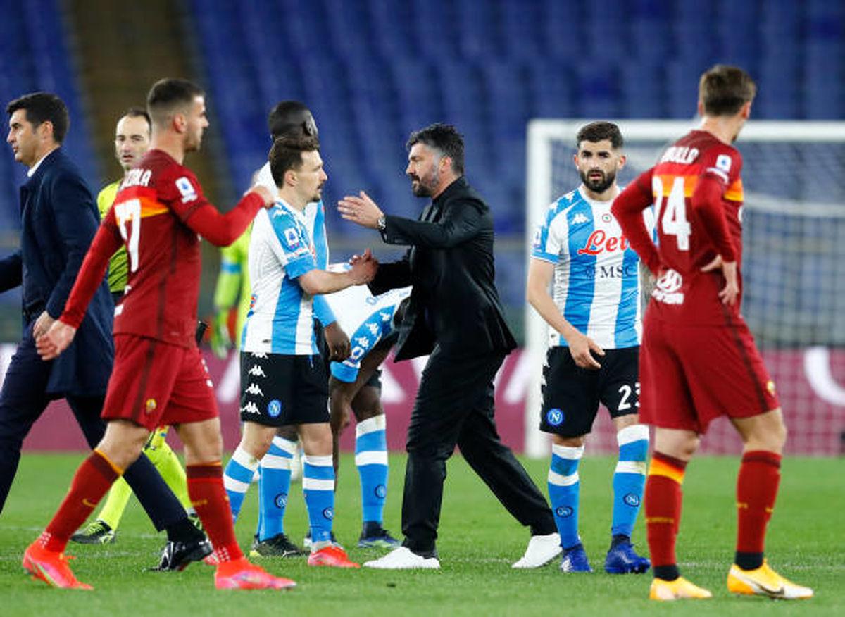 واکنش جالب رئیس باشگاه ناپولی به پیروزی این تیم