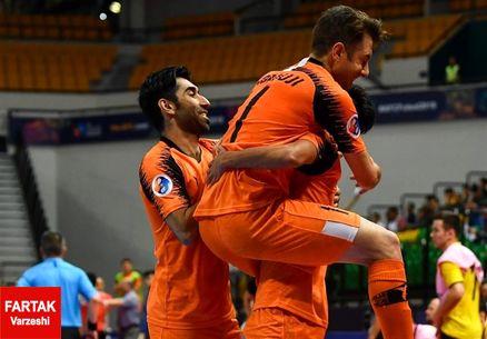 لیگ برتر فوتسال| پیروزی افضل با مس در نخستین بازی