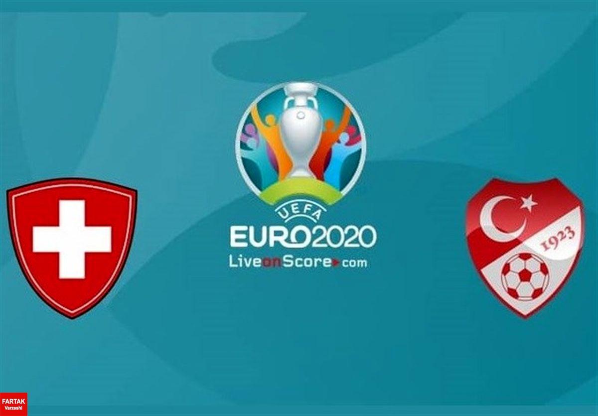 یورو ۲۰۲۰| 11 بازیکن اصلی تیم های سوئیس و ترکیه معرفی شدند