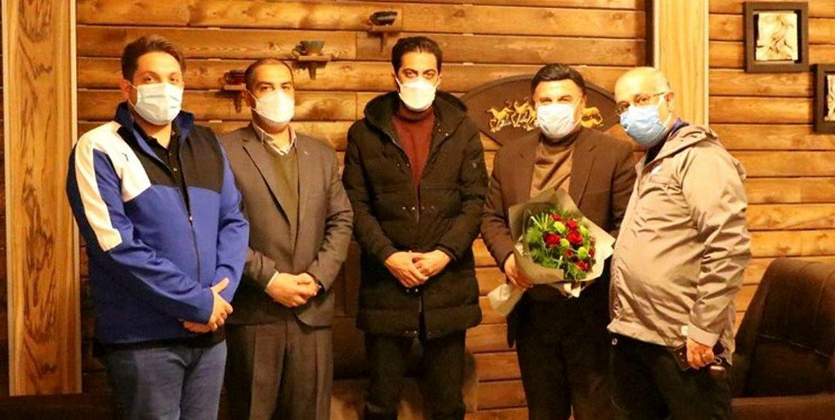 استقبال باشگاه گلگهر از کاروان استقلال