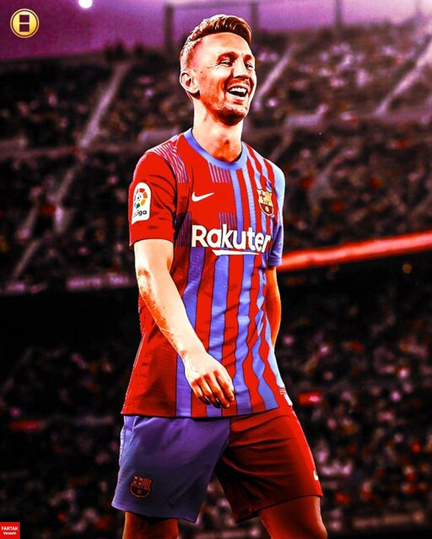 هلندی جدید بارسلونا/ دی یونگ رسما به بارسلونا پیوست