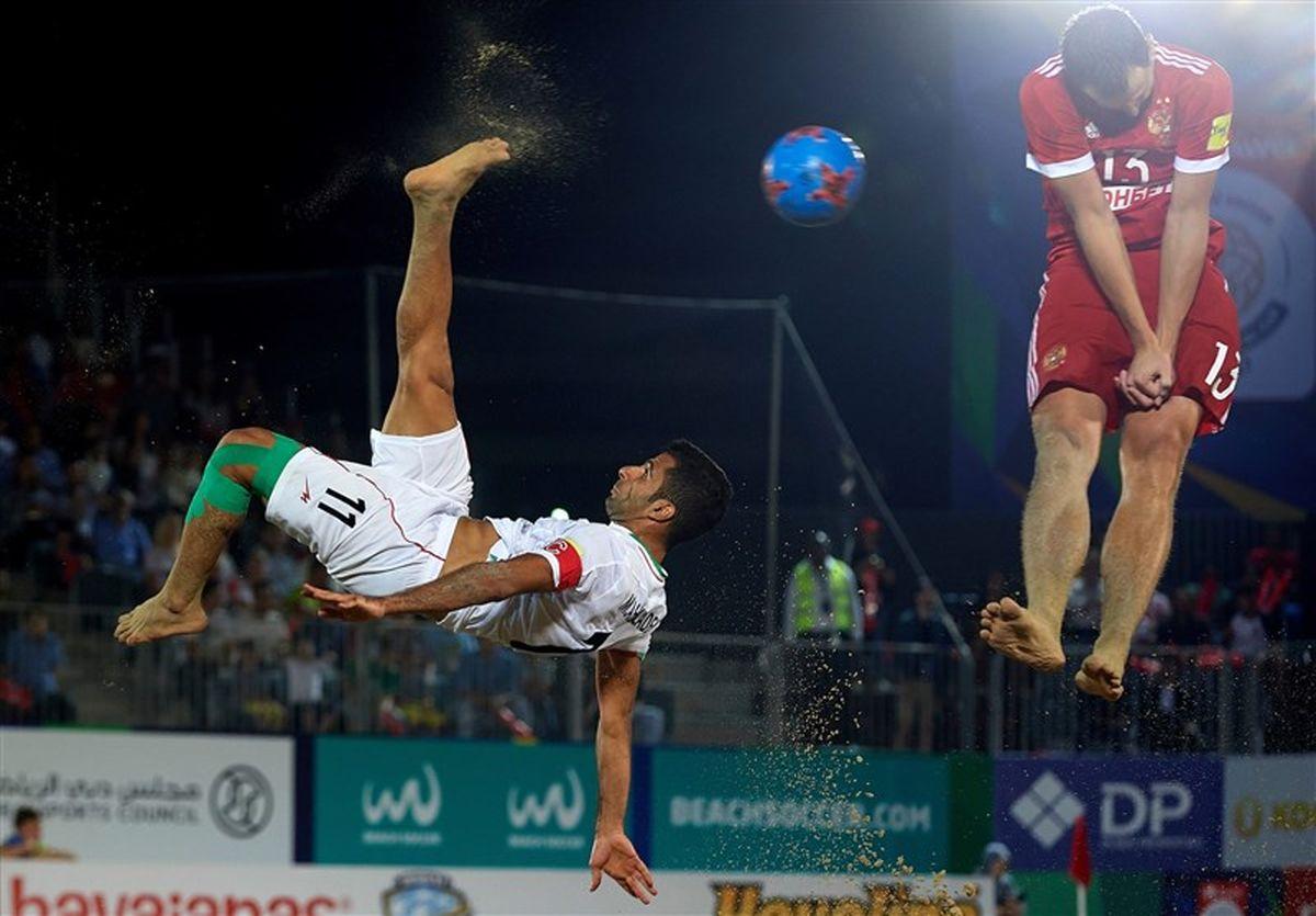 بازیهای جهانی ساحلی| تیم فوتبال ساحلی ایران به نیمهنهایی رسید