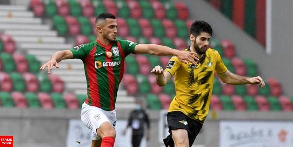 هفته ششم لیگ پرتغال توقف ماریتیمو در حضور علی علیپور