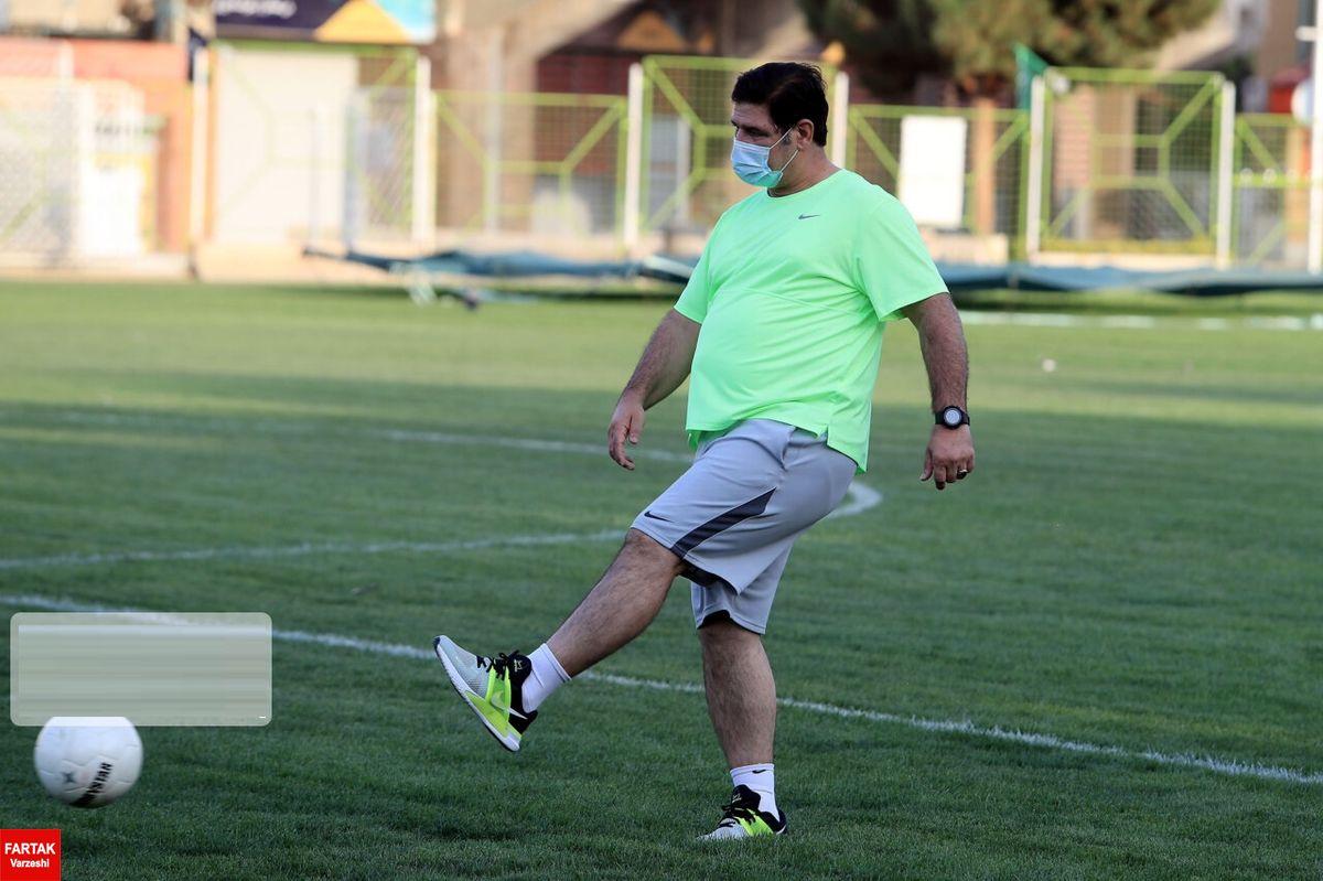 تیم فوتبال شهرخودرو با مربی جدید تمرینات خود را آغاز کرد