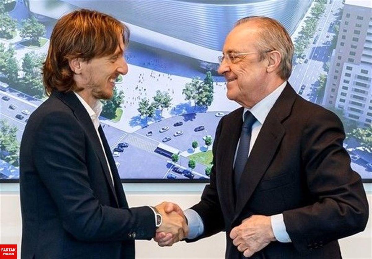 رسمی/ قراراداد هافبک کروات تمدید شد؛ تا ۲۰۲۲ با رئال مادرید