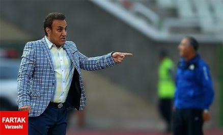 کاظمی: فقط به خودمان باختیم و کسی غیر از من مقصر نیست/ تیم من هنوز بزرگ نشده است