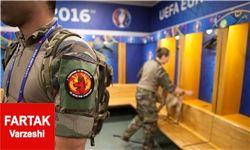 صدای انفجار قبل از بازی فرانسه - ایسلند