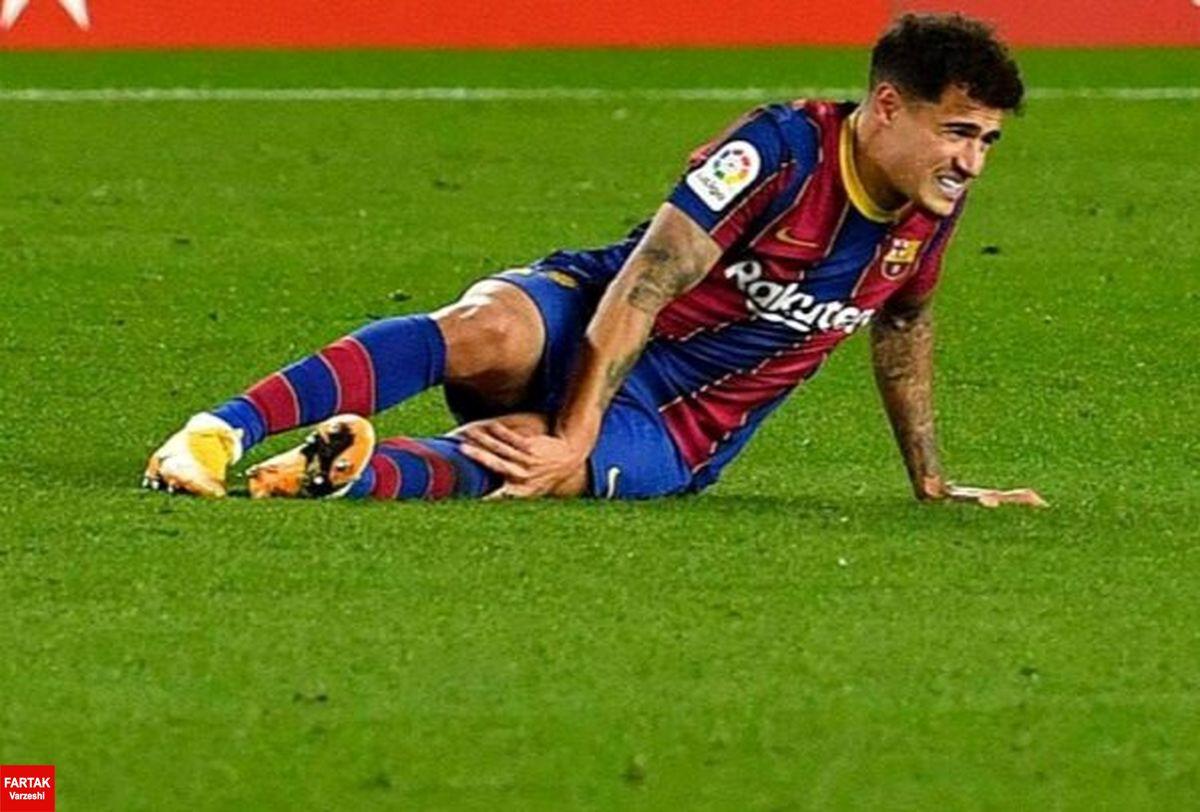 هافبک بارسلونا 3 ماه خانه نشین شد