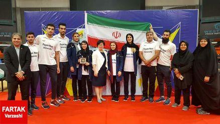 سه پیروزی در روز اول مسابقات برای نمایندگان پیام نور