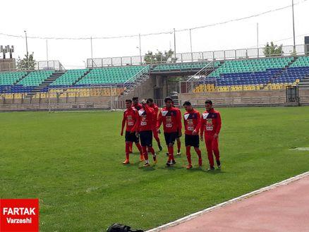 گزارش تمرین پرسپولیس/ غیبت برانکو و ملی پوشان