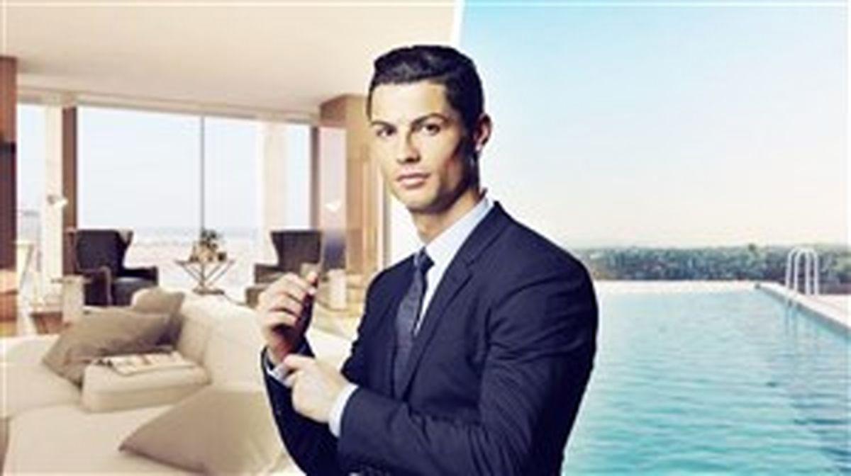 بازرسی آپارتمان میلیون دلاری رونالدو در لیسبون