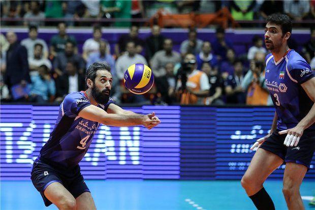 شخصیت والیبال ایران را مقابل آرژانتین نشان دادیم