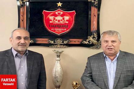 علی پروین،حمل کننده جام قهرمانی