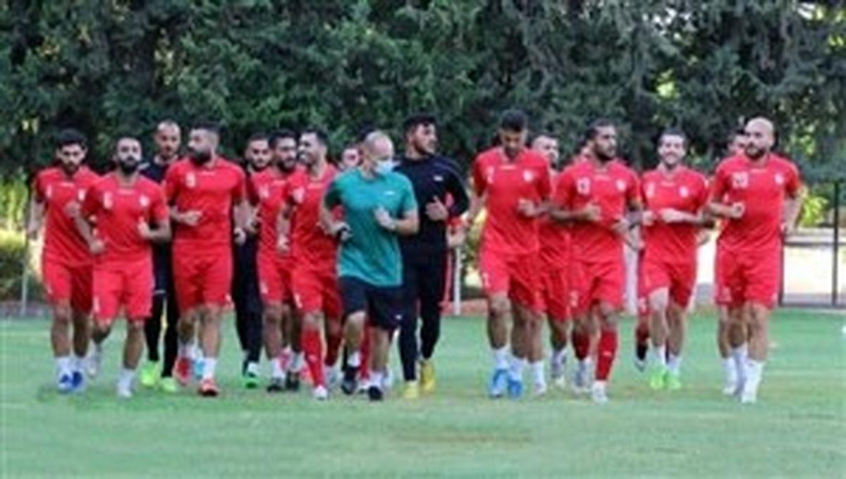 محل تمرین تیم ملی سوریه در تهران مشخص شد