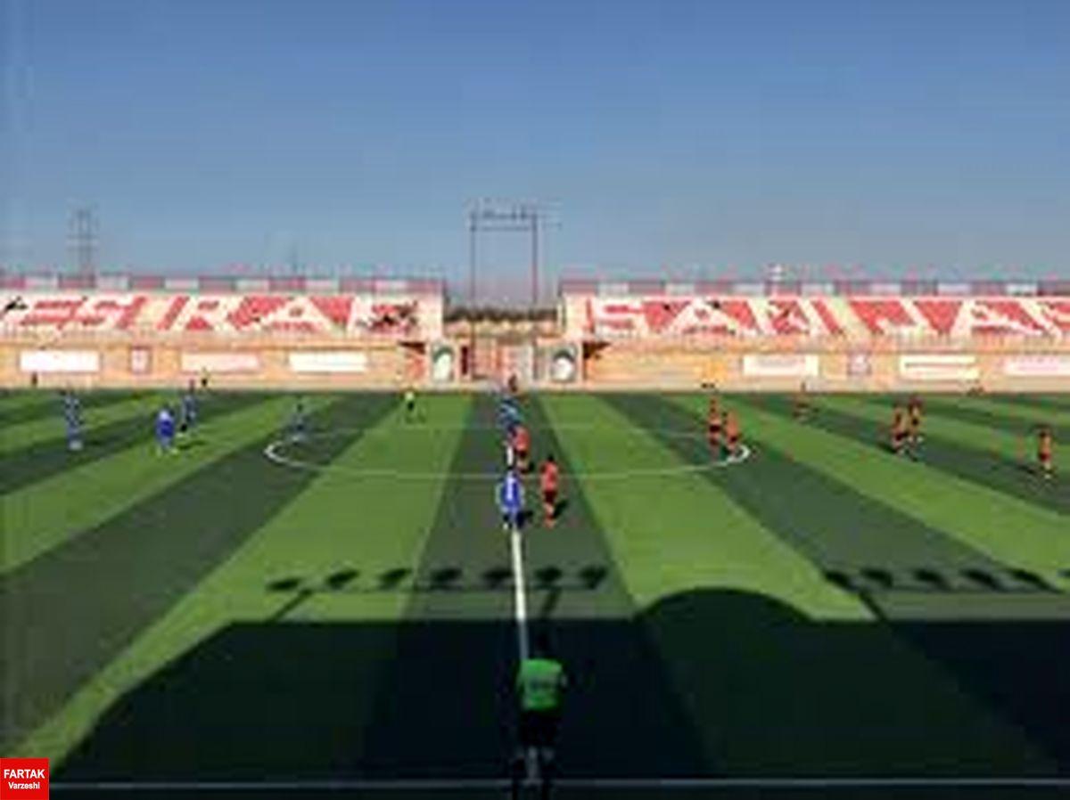 اعلام محل برگزاری دو مسابقه از هفته سیزدهم لیگ یک