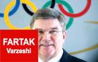 رئیس کمیته بین المللی المپیک با لباس تیم ملی برزیل فوتبال ساحلی بازی کرد+ تصاویر