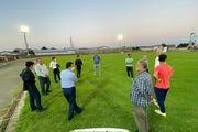 بازدید نماینده فدراسیون فوتبال از وضعیت استادیوم تختی