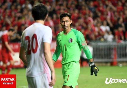 دروازهبان تیم ملی هنگکنگ: هر بازیکن ایران پیش از رسیدن به توپ به فکر گام بعدی خود بود