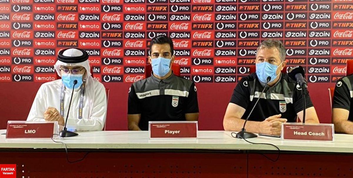 امیری: آمادهسازی خوبی برای بازی با بحرین داشتهایم