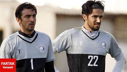 دروازه بان استقلال برای بازی مقابل الهلال مشخص شد