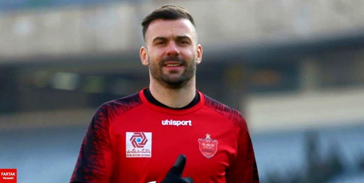 رادوشوویچ: برای نحوه دریافت مطالباتم در باشگاه حاضر شدم