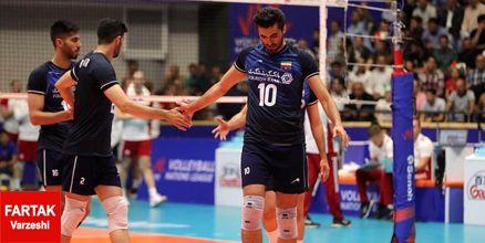 نگاهی آماری به عملکرد والیبالیستهای ایران مقابل لهستان