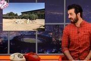 شوخی عبدالله روا با فدراسیون فوتبال و زمین جدیدش + فیلم